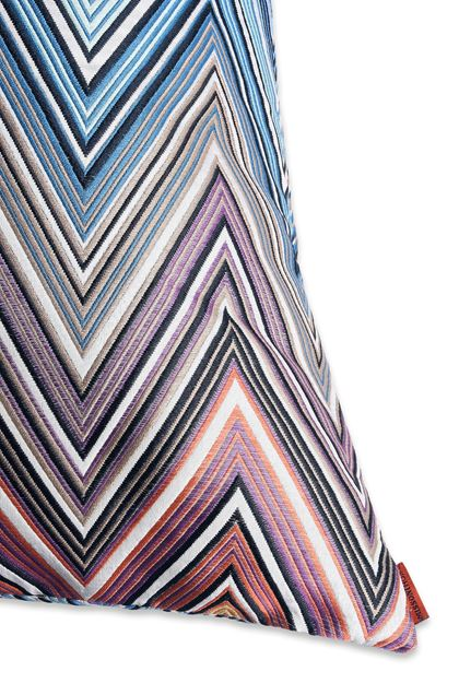 MISSONI HOME KEW ПОДУШКА Фиолетовый E - Передняя сторона