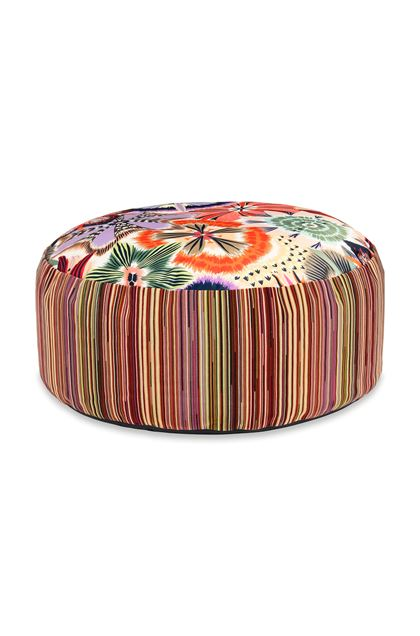 MISSONI HOME PALLINA POUF Light green E - Back