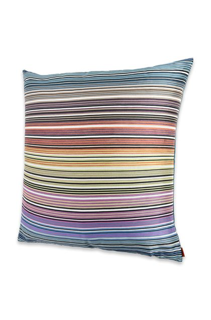 MISSONI HOME 24x24 in. Cushion Purple E - Back