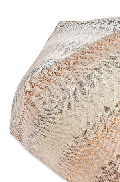 MISSONI HOME REMICH DIAMANTE POUF Beige E - Front
