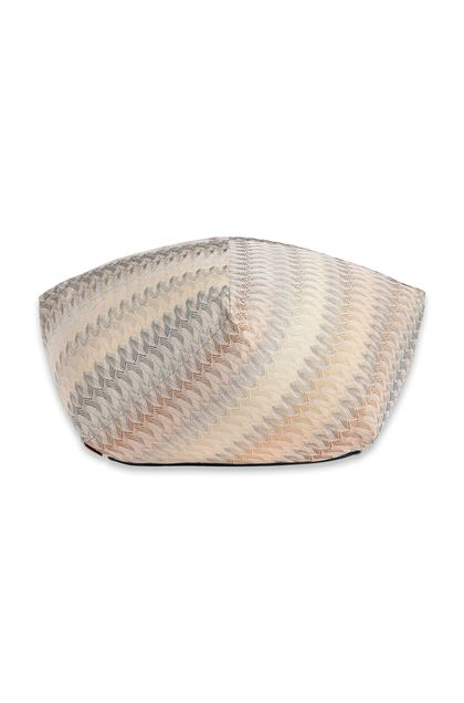 MISSONI HOME REMICH DIAMANTE POUF Beige E - Back
