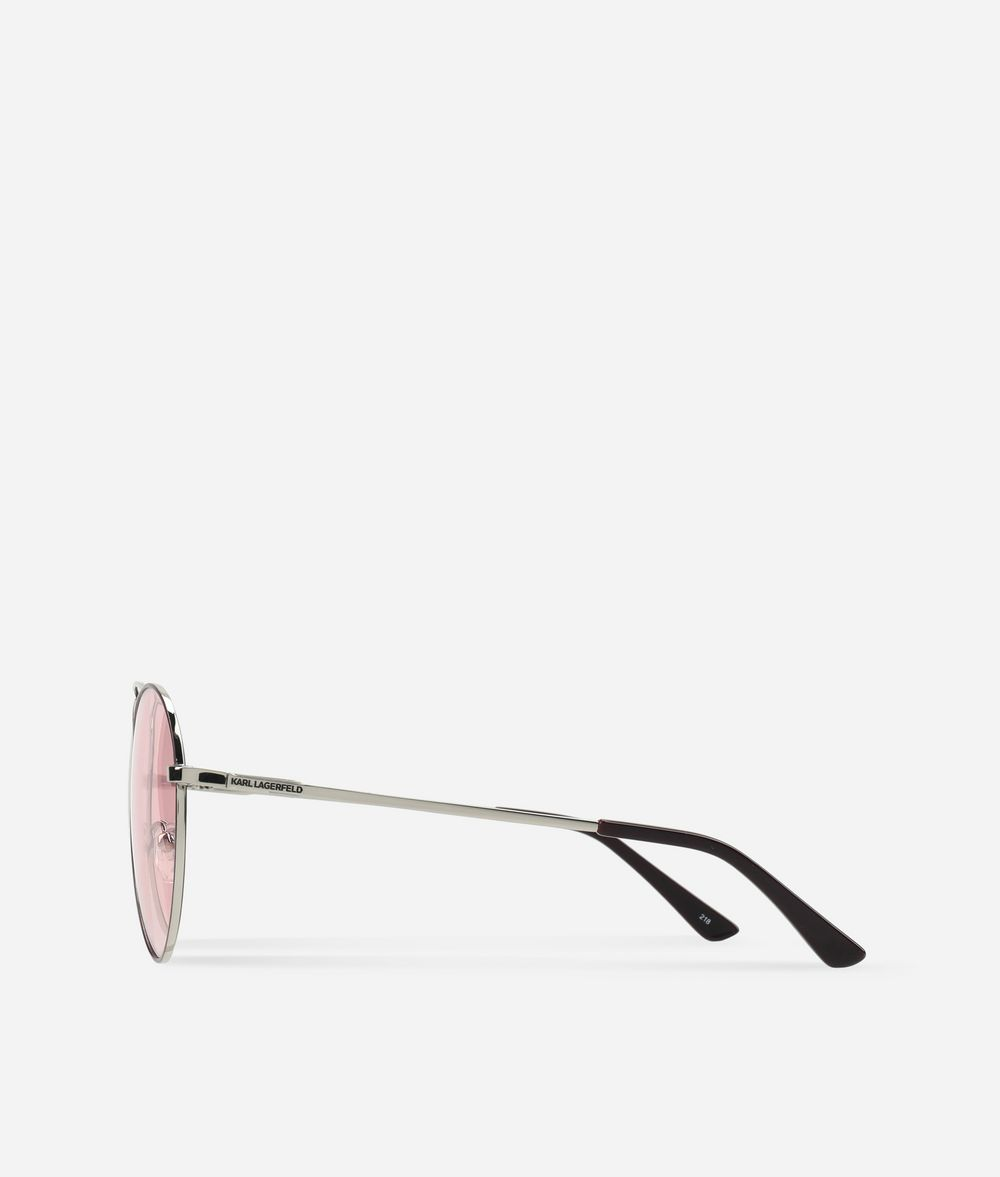 KARL LAGERFELD Karl Oval-Frame Sunglasses Eyewear Woman d