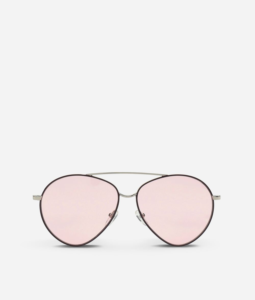 KARL LAGERFELD Karl Oval-Frame Sunglasses Eyewear Woman f