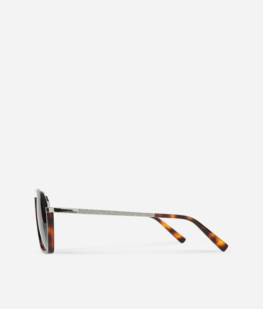 KARL LAGERFELD Karl Aviator-Style Sunglasses Eyewear Man d