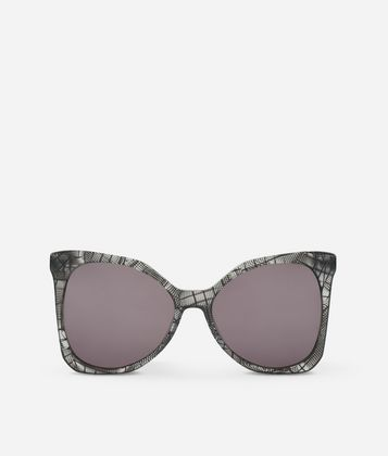 KARL LAGERFELD KARL SIGNATURE BUTTERFLY SUNGLASSES
