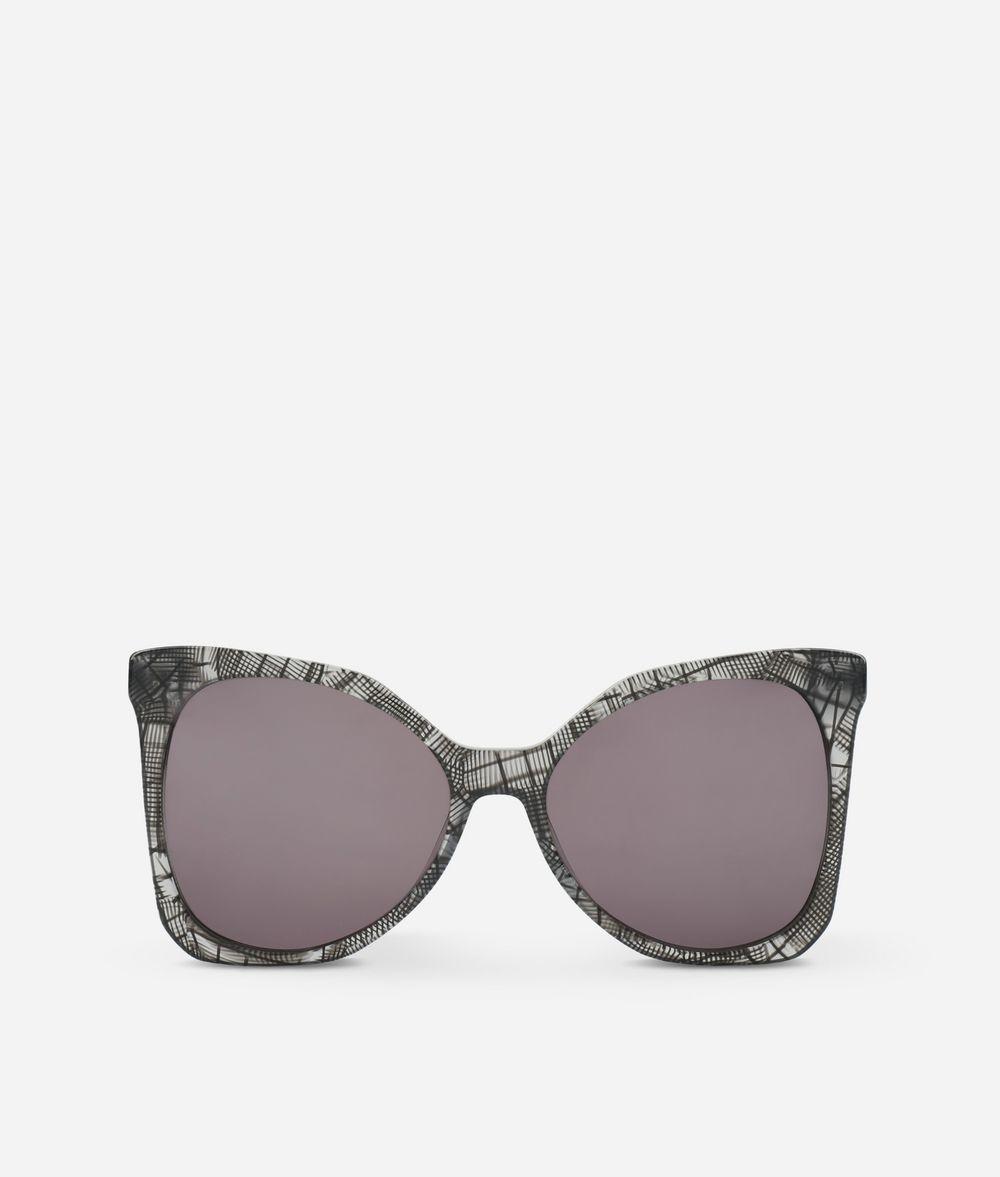KARL LAGERFELD Karl Signature Butterfly Sunglasses Eyewear Woman f