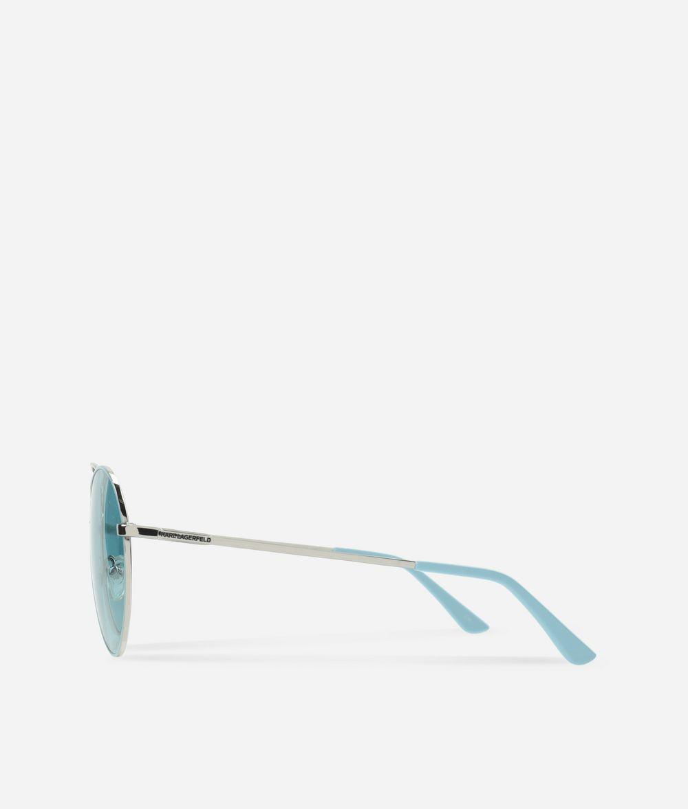 KARL LAGERFELD Karl Oval-Frame Sunglasses Eyewear Woman d