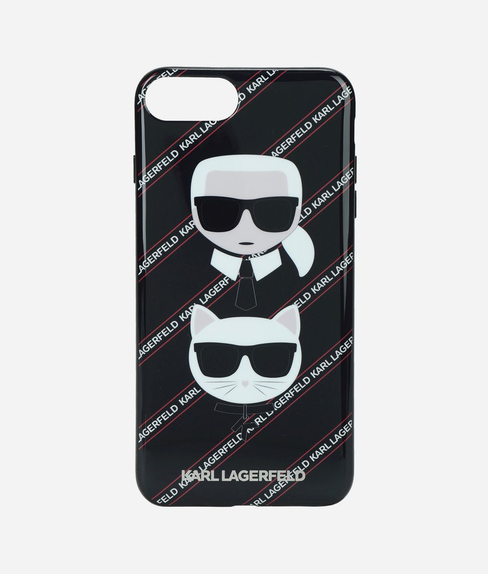 KARL LAGERFELD KARL AND CHOUPETTE IPHONE + CASE  iPad/iPhone Case E f