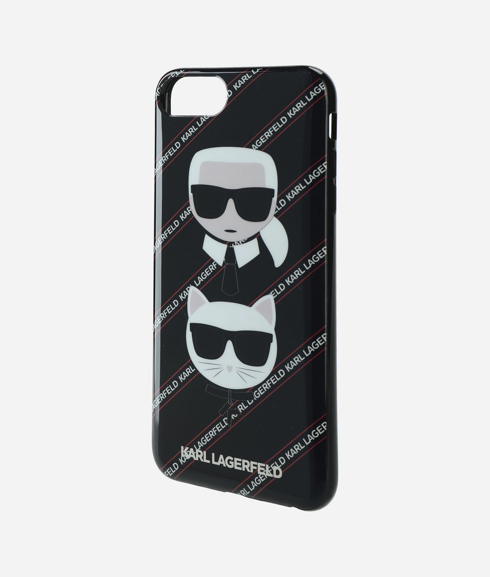KARL LAGERFELD KARL AND CHOUPETTE IPHONE + CASE  iPad/iPhone Case E r
