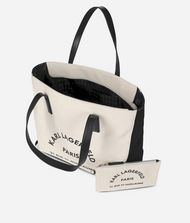 KARL LAGERFELD K/Rue Lagerfeld Canvas Bag Canvas Shopper Woman e