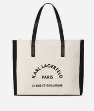 KARL LAGERFELD K/Rue Lagerfeld Canvas Bag Canvas Shopper Woman f
