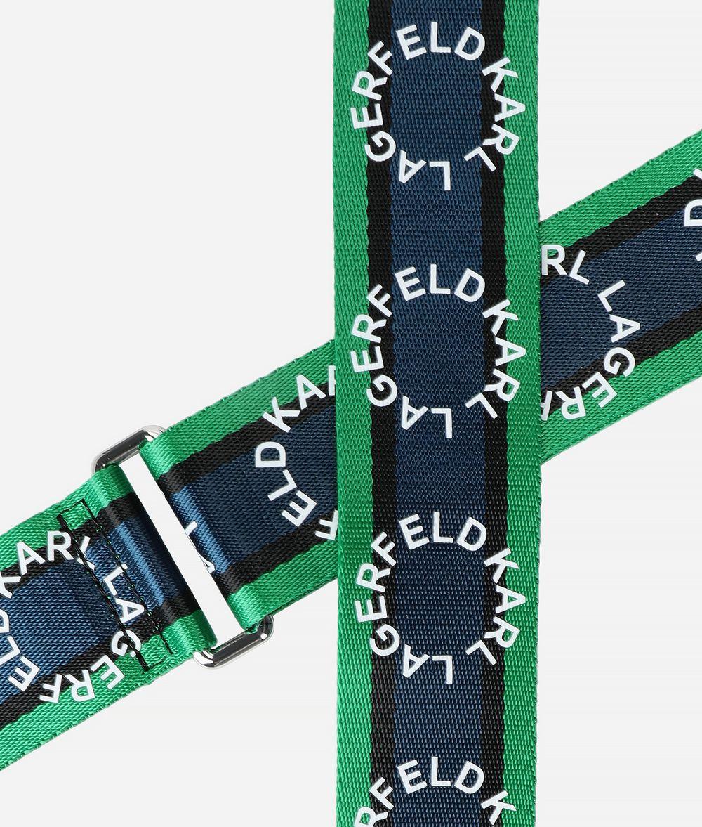 KARL LAGERFELD K/Round Logo Strap Shoulderstrap Woman d