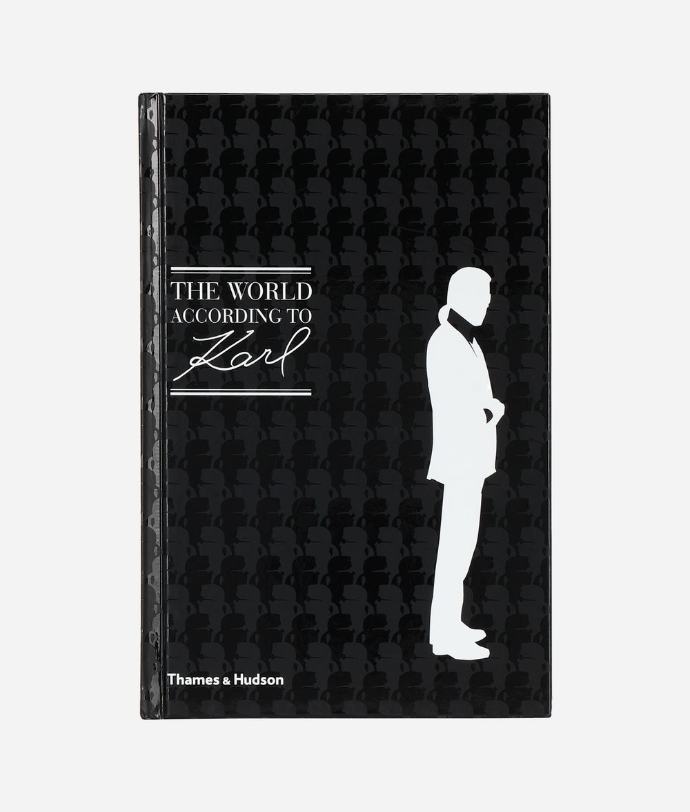 KARL LAGERFELD THE WORLD ACCORDING TO KARL Book E f