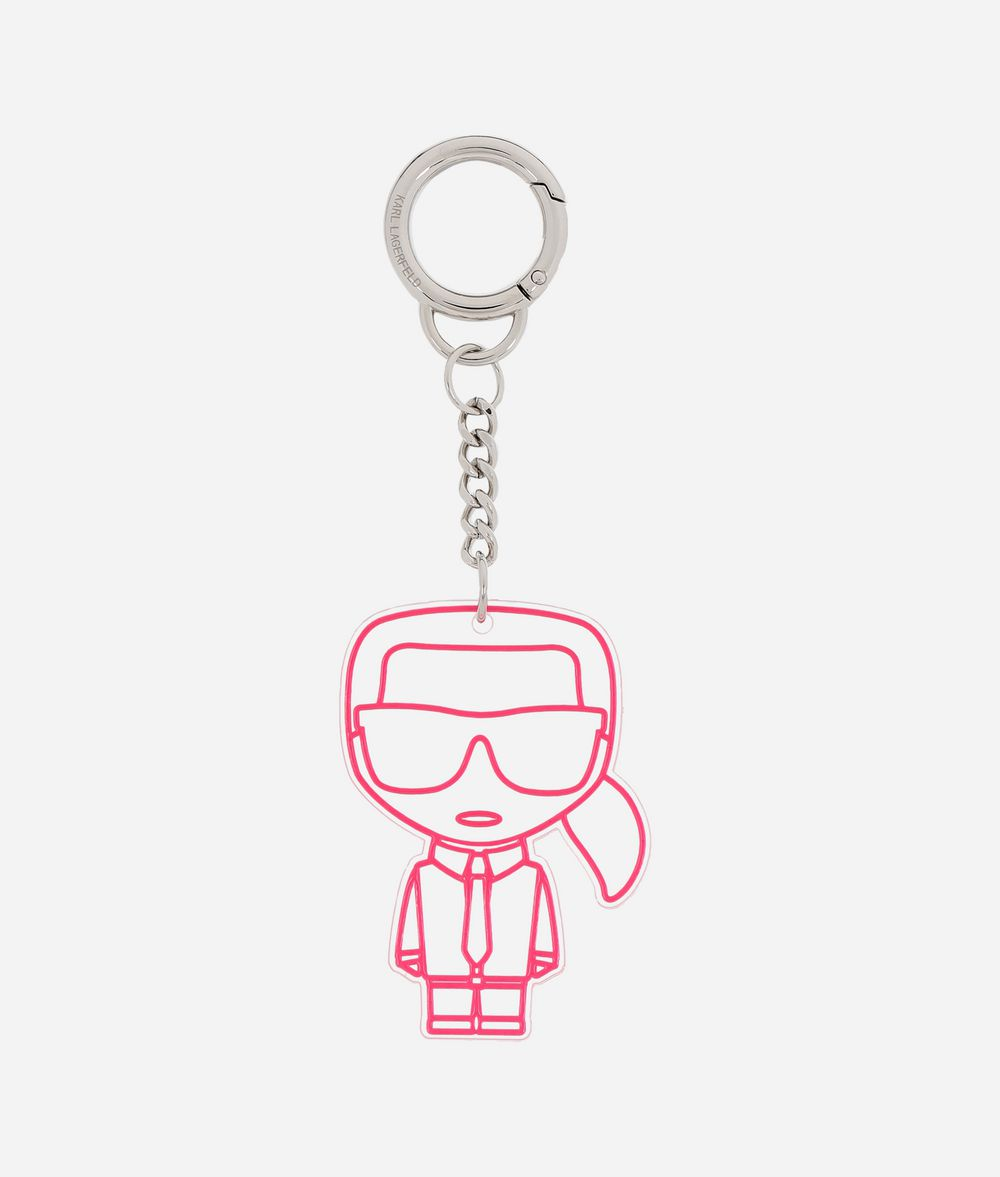 KARL LAGERFELD K/Neon Keychain Key Chain E f