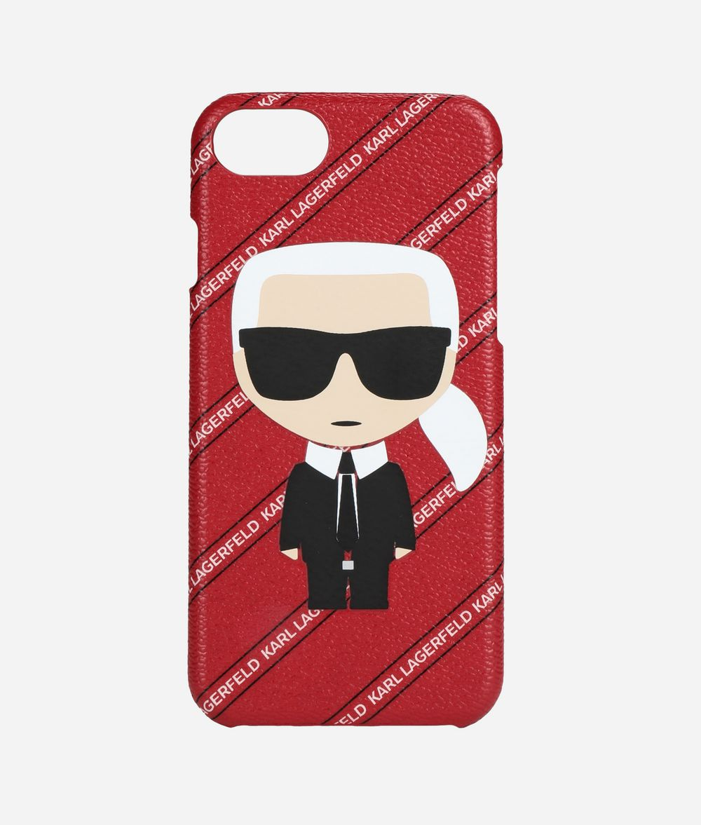 KARL LAGERFELD iPhone 7/8 Cover iPad/iPhone Case Woman f