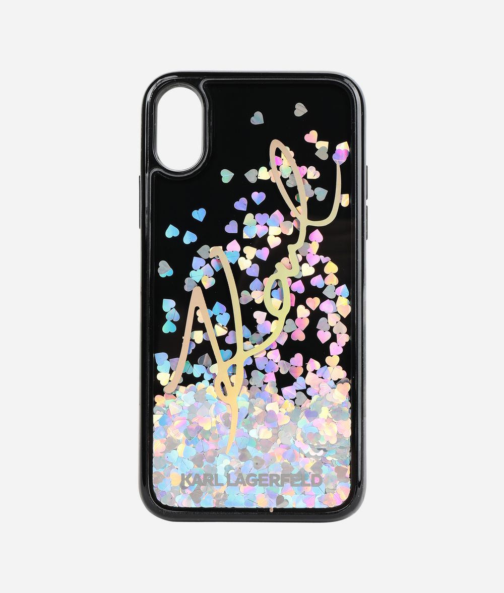 KARL LAGERFELD K/Signature iPhone X Cover iPad/iPhone Case Woman f