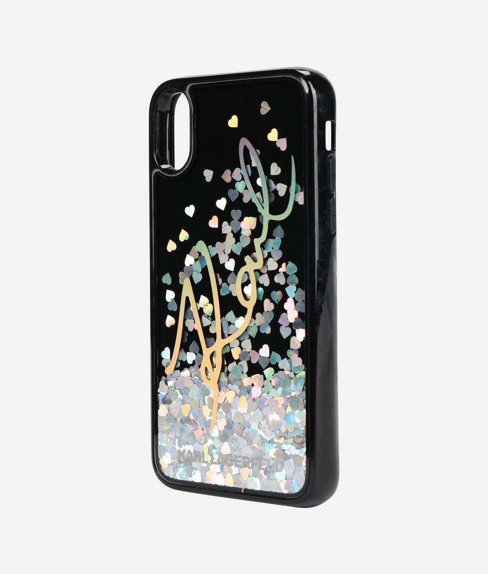 KARL LAGERFELD K/Signature iPhone X Cover iPad/iPhone Case Woman r