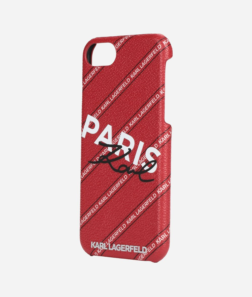 KARL LAGERFELD K/City iPhone 7/8 Cover iPad/iPhone Case Woman r