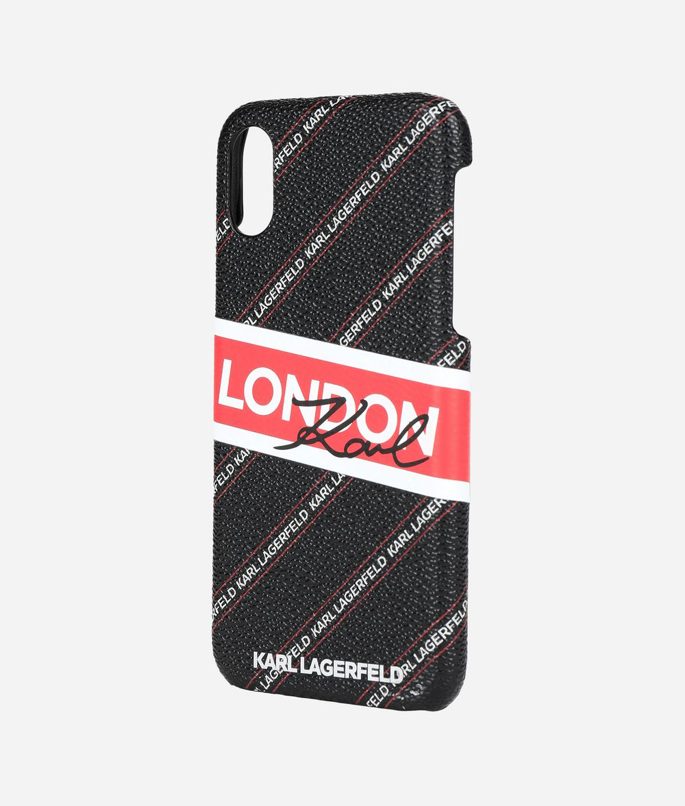 KARL LAGERFELD Coque pour iPhone X K/City Coques iPad/iPhone Femme r