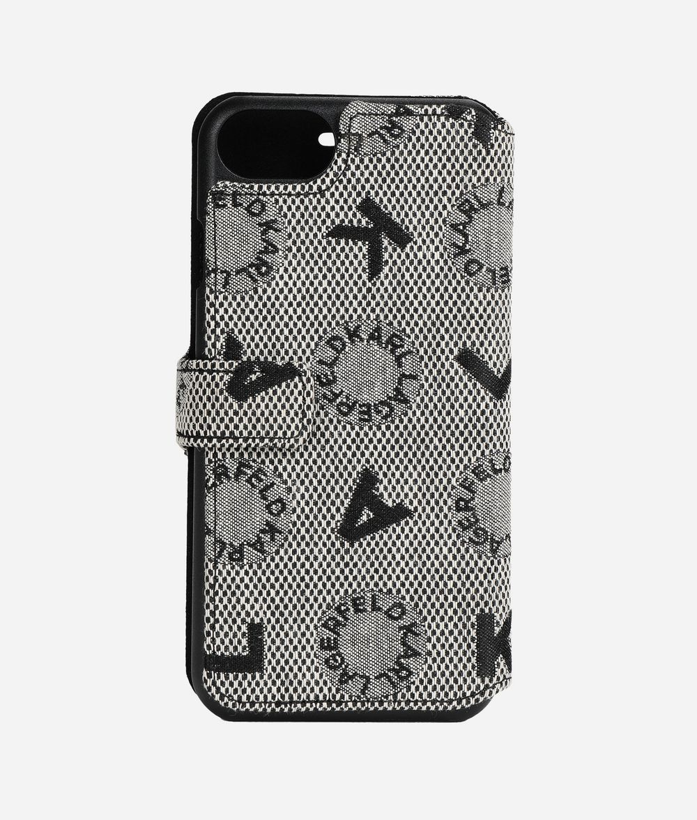 KARL LAGERFELD Logo Jacquard iPhone 7/8 Cover iPad/iPhone Case Woman f