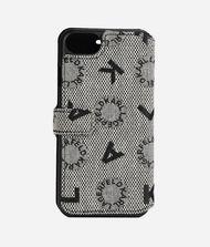 KARL LAGERFELD Logo Jacquard iPhone 7/8 Cover 9_f