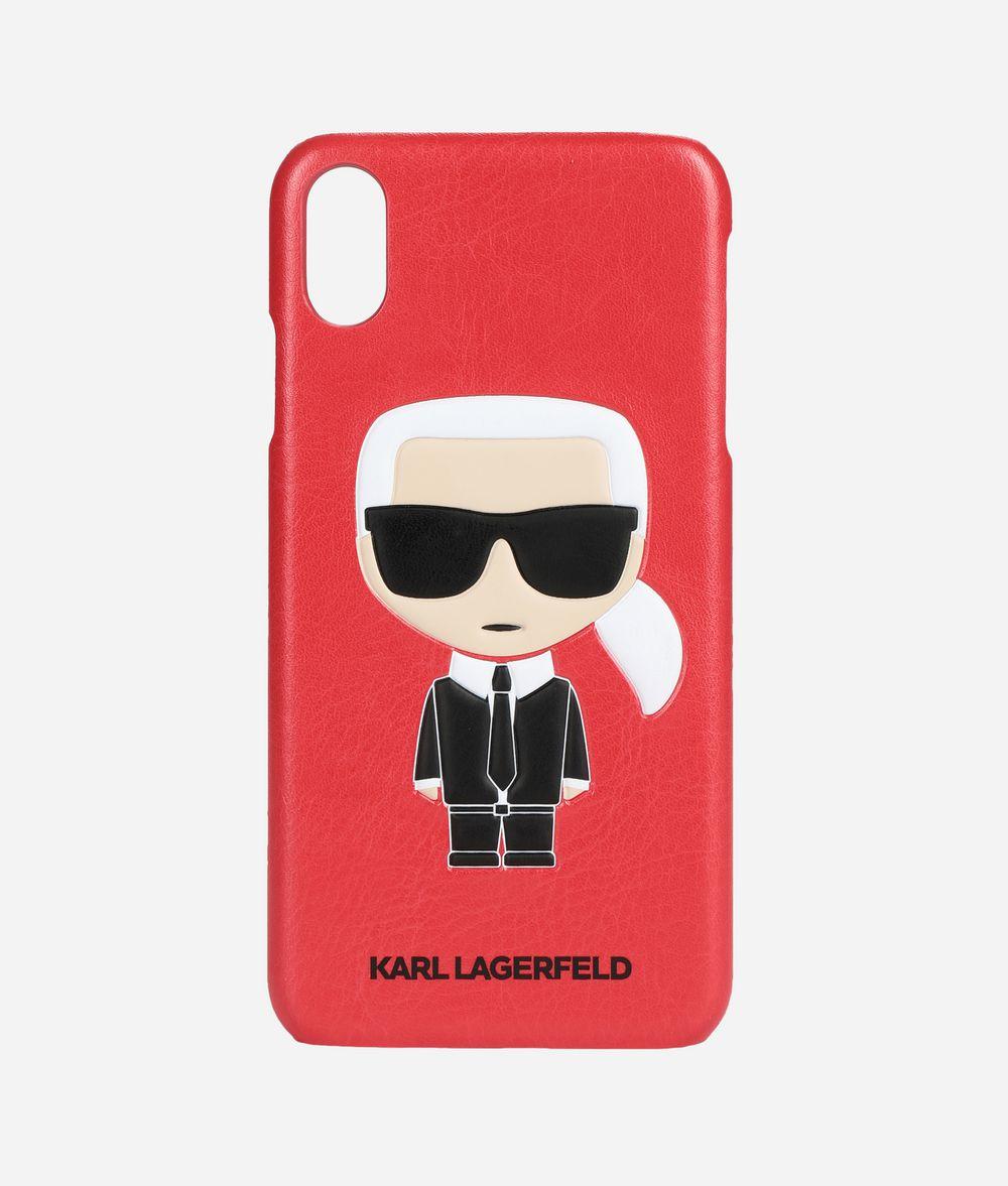 KARL LAGERFELD K/Ikonik iPhone Xs Max Cover iPad/iPhone Case E f