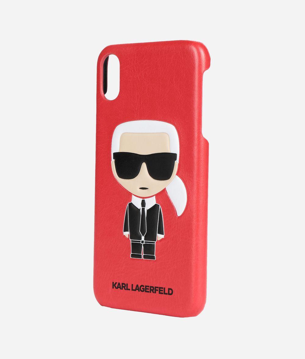 KARL LAGERFELD K/Ikonik iPhone Xs Max Cover iPad/iPhone Case E r