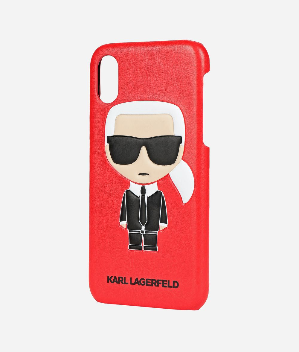 KARL LAGERFELD Coque pour iPhone X K/Ikonik Coques iPad/iPhone E r