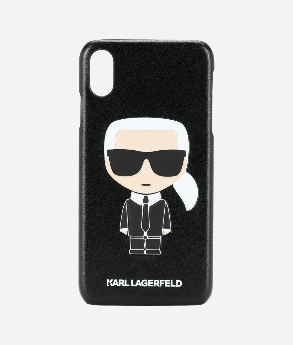 KARL LAGERFELD K/Ikonik iPhone XS Max Cover iPad/iPhone Case Woman f
