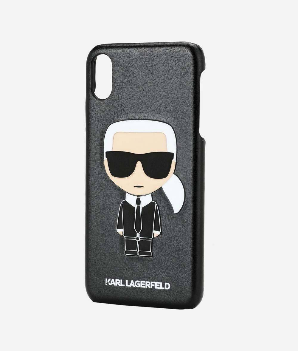 KARL LAGERFELD K/Ikonik iPhone XS Max Cover iPad/iPhone Case Woman r