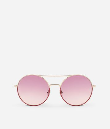 KARL LAGERFELD KREATIVE METAL SUNGLASSES
