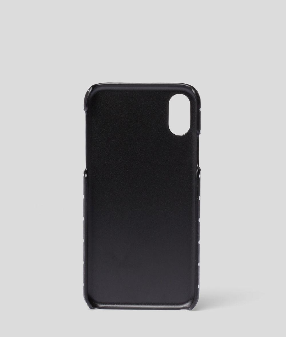 KARL LAGERFELD Polka Dot iPhone X Cover iPad/iPhone Case Woman d