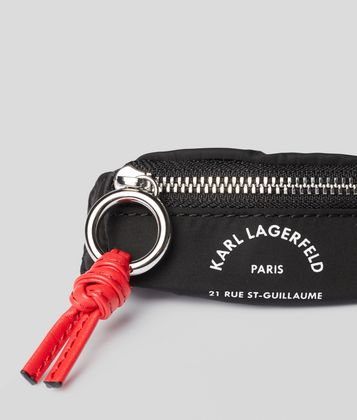 KARL LAGERFELD RUE ST GUILLAUME BUMBAG KEYCHAIN