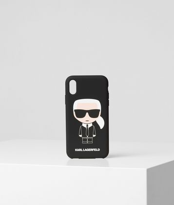 KARL LAGERFELD K/IKONIK IPHONE XR COVER