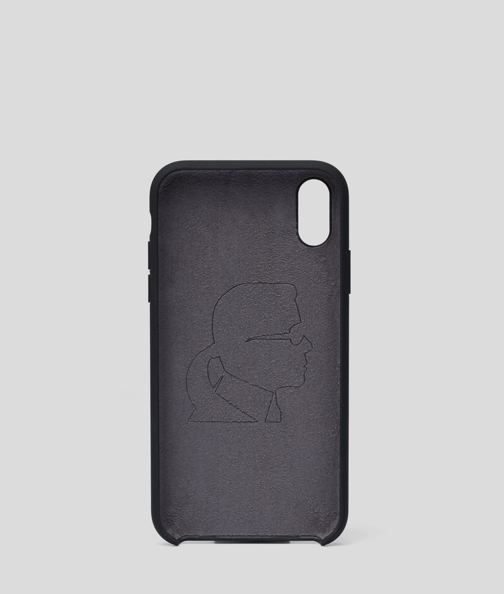 KARL LAGERFELD K/Ikonik iPhone XR Cover iPad/iPhone Case E d
