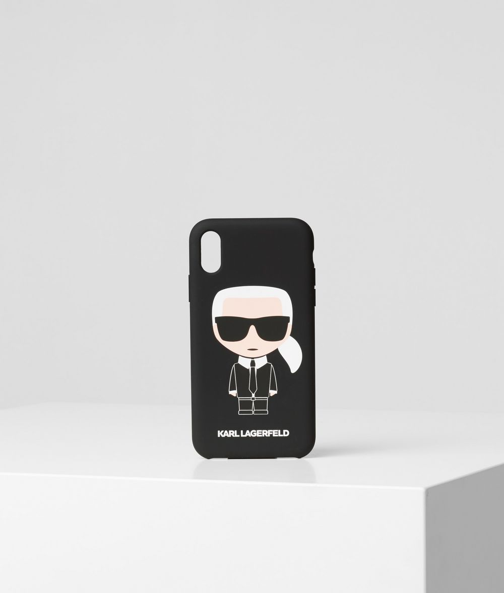 KARL LAGERFELD K/Ikonik iPhone XR Cover iPad/iPhone Case E f