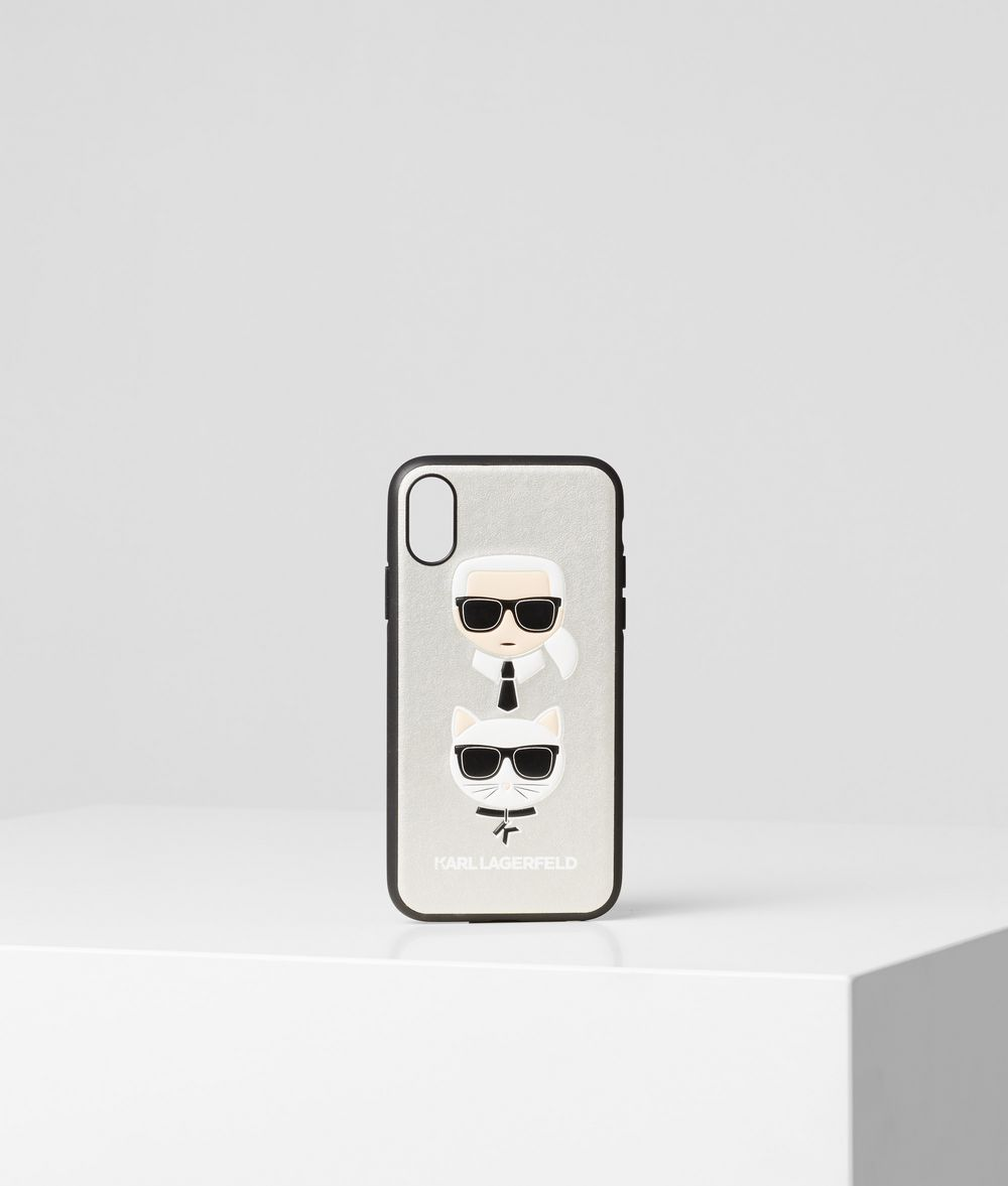 KARL LAGERFELD Choupette iPhone X/XS Cover iPad/iPhone Case Woman f