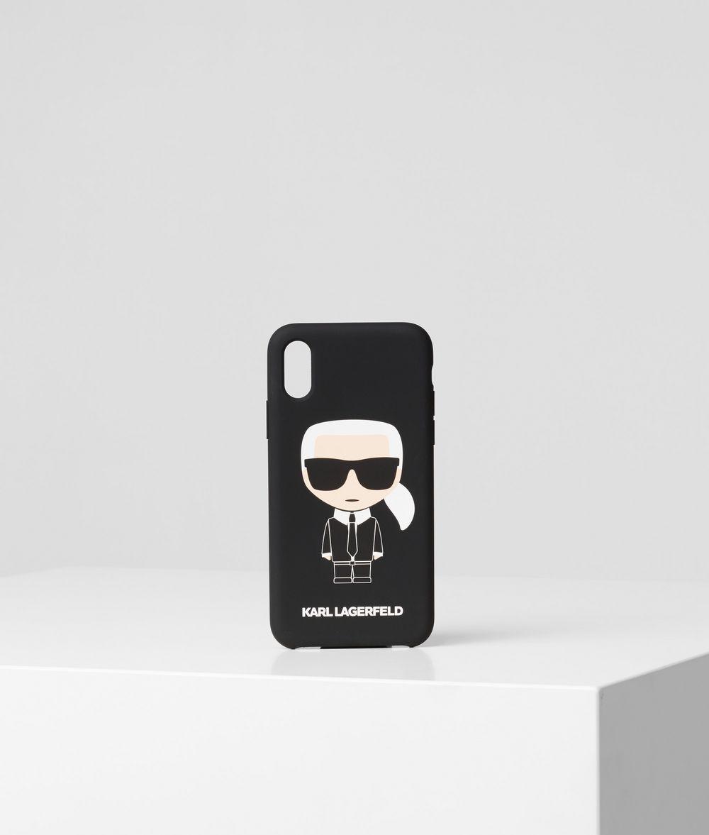KARL LAGERFELD K/Ikonik iPhone X/XS Cover iPad/iPhone Case E f