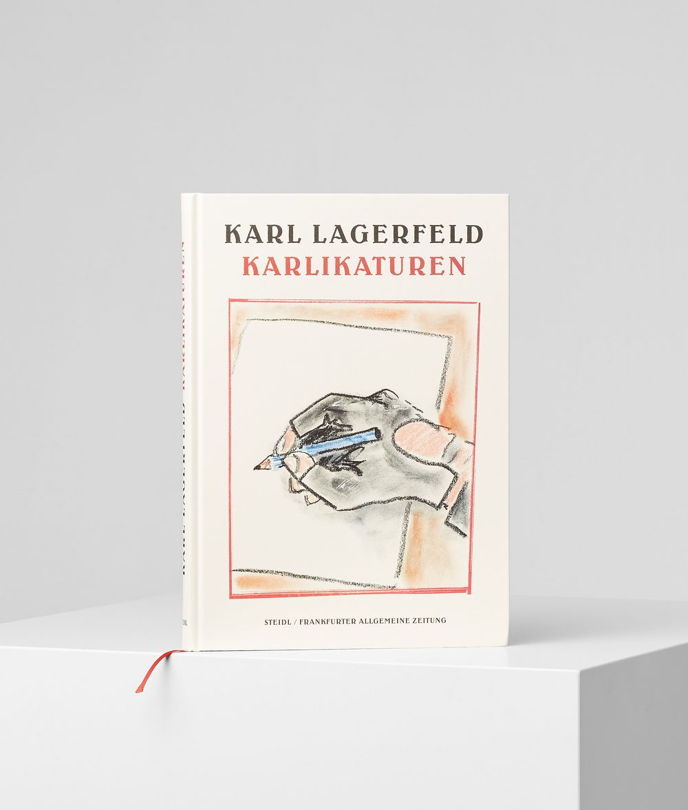 KARL LAGERFELD Karlikaturen Book Woman f