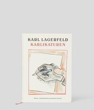 KARL LAGERFELD Karlikaturen Book Woman d