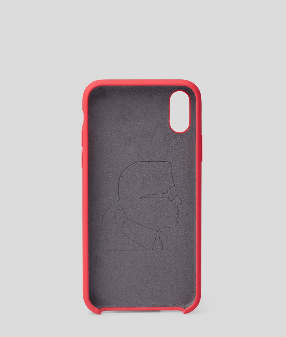 KARL LAGERFELD K/Ikonik iPhone X/XS Cover iPad/iPhone Case Woman d