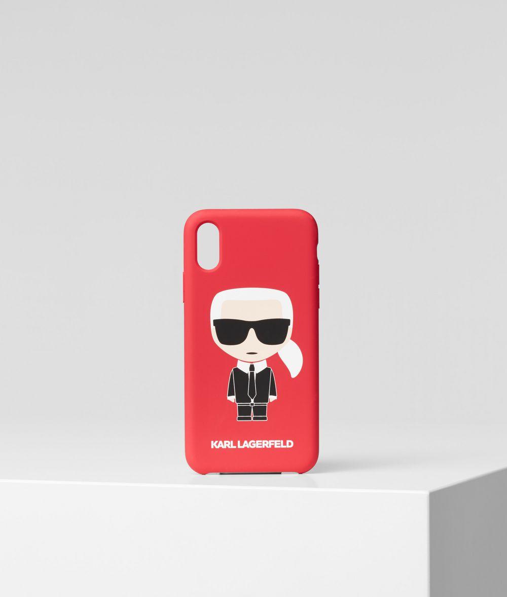 KARL LAGERFELD K/Ikonik iPhone X/XS Cover iPad/iPhone Case Woman f