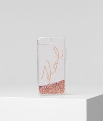 KARL LAGERFELD K/SIGNATURE IPHONE 8+ COVER