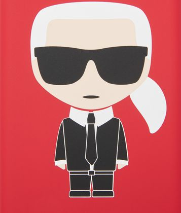 KARL LAGERFELD K/IKONIK IPHONE 8 COVER