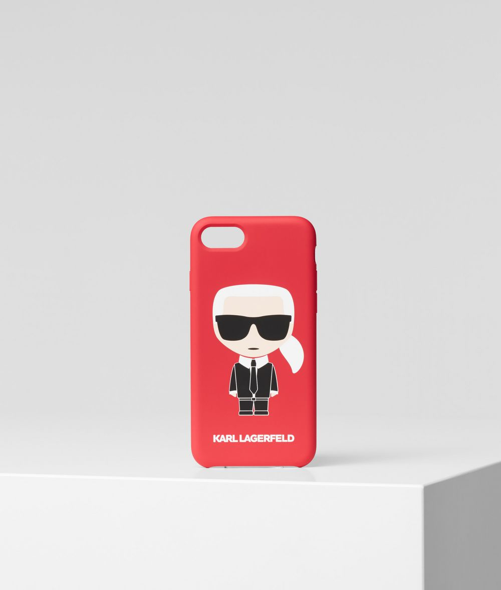 KARL LAGERFELD K/Ikonik iPhone 8 Cover iPad/iPhone Case Woman f