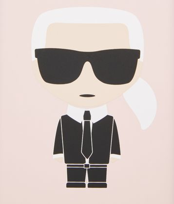 KARL LAGERFELD K/IKONIK IPHONE X/XS COVER