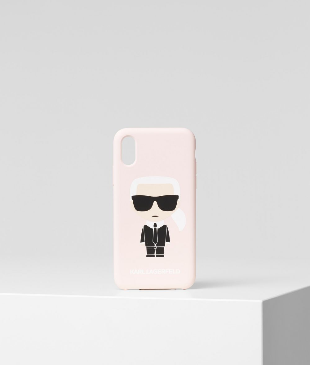 KARL LAGERFELD K/Ikonik iPhone X/XS Cover iPad/iPhone Case Woman f