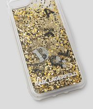 KARL LAGERFELD K/Ikonik Liquid Glitter iPhone 8 Cover 9_f
