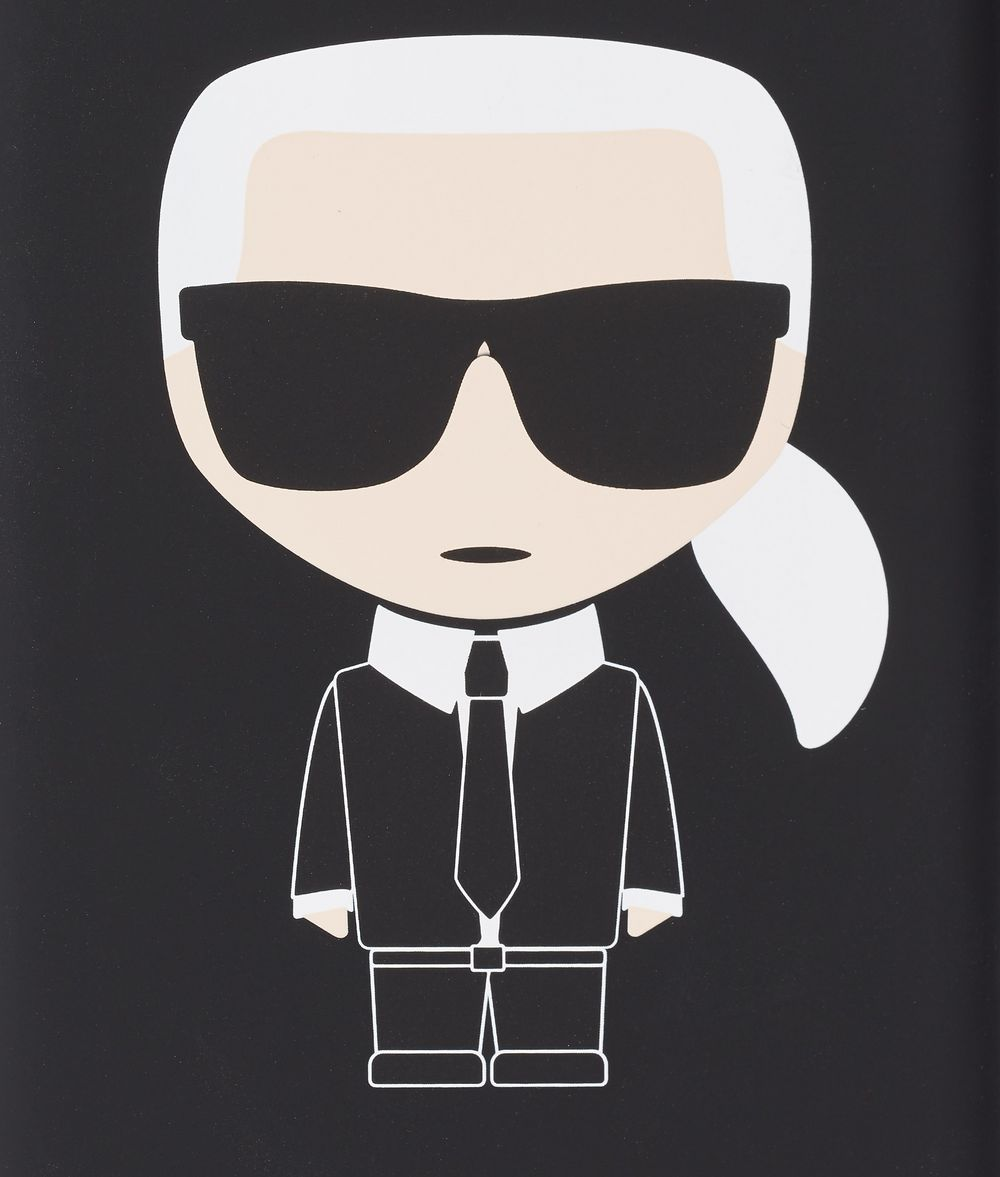 KARL LAGERFELD K/Ikonik iPhone 8+ Cover iPad/iPhone Case Woman d