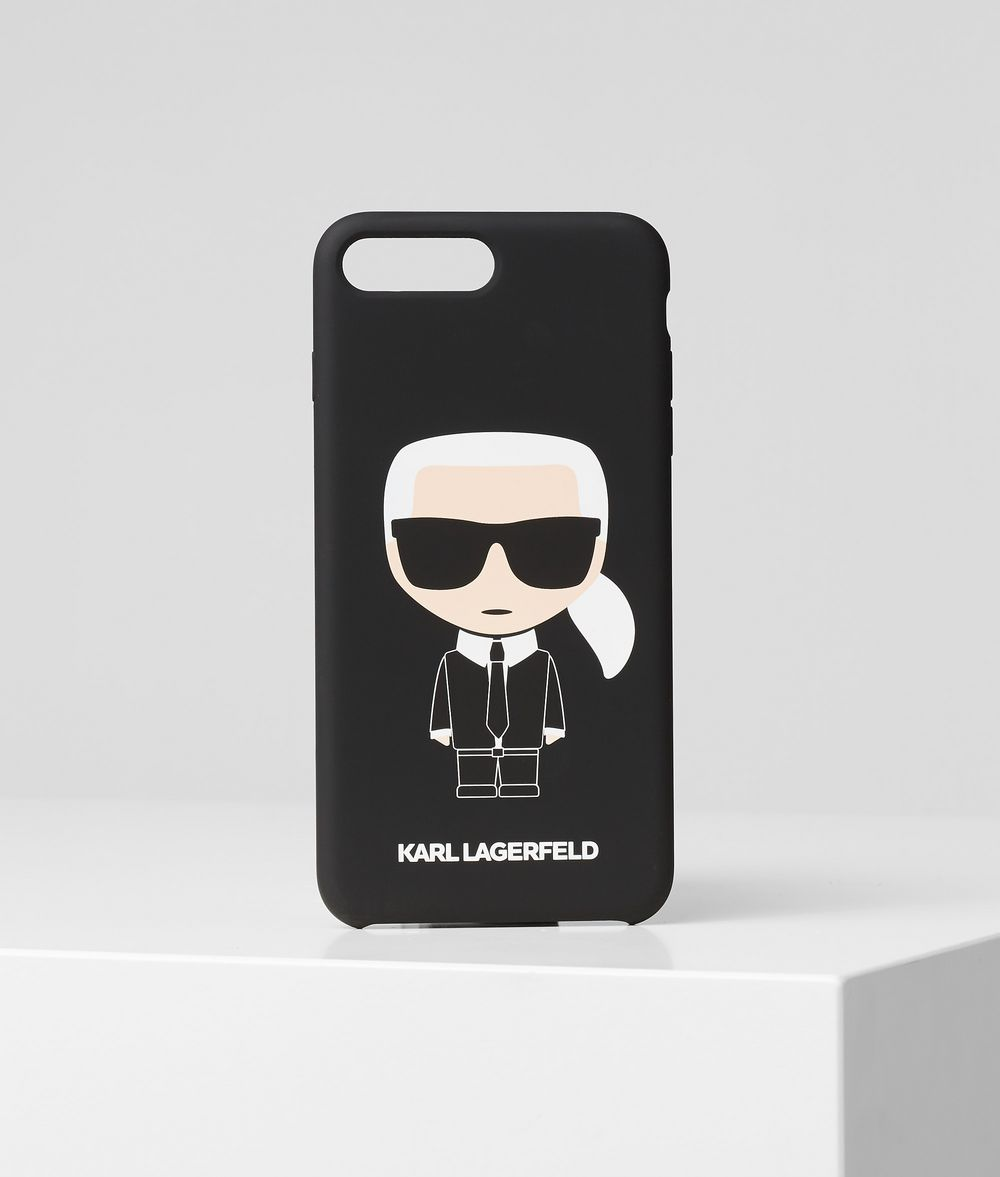 KARL LAGERFELD K/Ikonik iPhone 8+ Cover iPad/iPhone Case Woman f